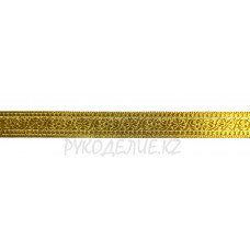 Тесьма золото-серебро 1,4см