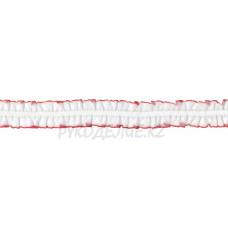 Резина декор 18мм BLITZ DT-07 (бел/кр)
