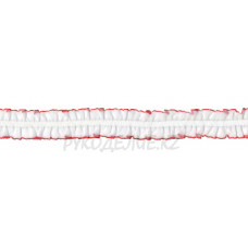 Резина декоративная 18мм BLITZ DT-07 (бел/кр)