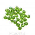 Бусины стекло граненое 10мм 37-1 - Зелёный АВ