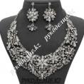 Комплект со стразами 03038 79 - Серебро/crystal