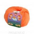 Пряжа Карамелька Камтекс 035 - Оранжевый
