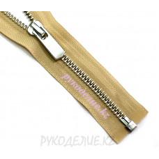 1-зам Молния металл №5 YKK никель матовый, 60 см
