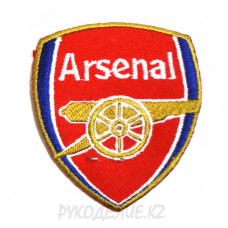 "Шеврон клеевой ""Arsenal"" 5,4*6,2см"