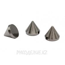 Шипы пришивные металлоимитация d-9мм