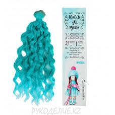Волосы тресс для кукол Волны, длина волос 25см, ширина 100см