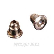 Заглушки металлические 6*5мм (2 шт)