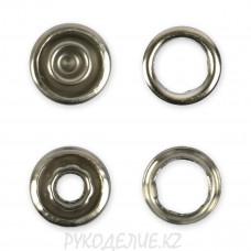 Кнопка рубашечная нержавеющая сталь d-9мм Гамма