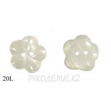 Пуговица цветочек CBM-62