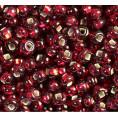 Бисер Silver отверстие квадратное 13/0 Preciosa 97090 - Красный