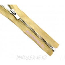 1-зам Молния металл №3 YKK разъемная, никель матовый, 60 см