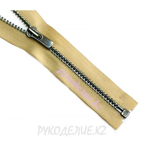 1-зам Молния металл №3 YKK разъемная, т.никель глянец, 60 см