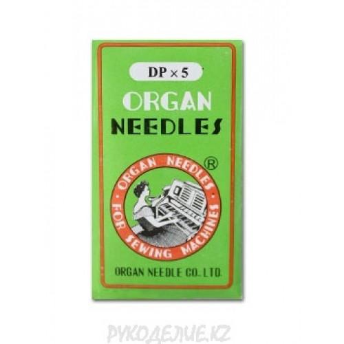 Иглы для промышленных швейных машин DP*5 №125 Organ needles