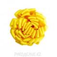 Брошь Цветок Георгин d-75мм 24 - Жёлтый