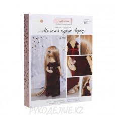 """Интерьерная кукла """"Лорен"""" набор для шитья 18*22,5*3см Арт Узор"""
