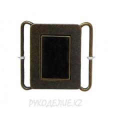 Пряжка камзольная металлическая MB-055