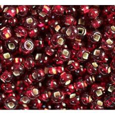 Бисер Silver отверстие квадратное Preciosa 13/0 (97090 - Красный)