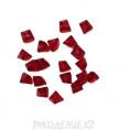 Бусины стекло граненое Ломаная 6мм 15 - Красный