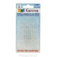 Иглы для шитья ручные для слабовидящих(6штук) N5/9 N-004 Гамма Никель