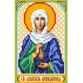 Рисунок на шелке Святая Анастасия 22*25см Матрёнин Посад 1 - Цветной
