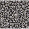 Бисер жемчужный непрозрачный 10/0 Preciosa 48020 - Серый