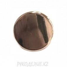 Пуговица металлическая на ножке ME s-01