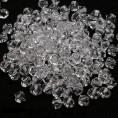 Бусины биконусы стекло 5328 6-d Swarovski 001 - Crystal