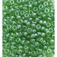 Бисер жемчужный прозрачный 10/0 Preciosa 56100 - Светло-зелёный