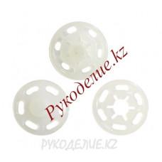 Кнопка пришивная пластиковая круглая MS K-48