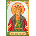 Рисунок на шелке Святой князь Владимир 22*25см Матрёнин Посад 1 - Цветной