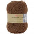 Пряжа Деревенская Пехорка 416 - Светло-коричневый
