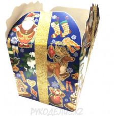 Сборная подарочная коробочка 15*15*15см
