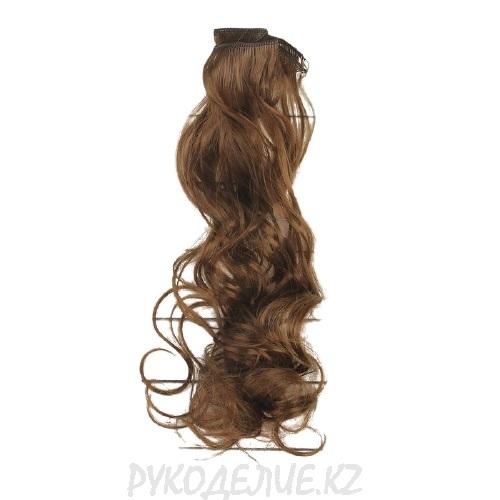 Волосы тресс для кукол Кудри длина волос 40см, ширина 50см