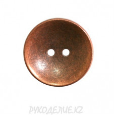 Пуговица металлическая MFB323 (54L, Медный)