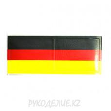 """Клеевая аппликация""""Флаг Германии""""(2шт), 6,8*4,5см"""