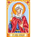 Рисунок на шелке Святая Ариадна 22*25см Матрёнин Посад 1 - Цветной