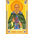 Рисунок на шелке Святой Кирилл 22*25см Матрёнин Посад шелк/рис