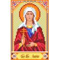 Рисунок на шелке Святая Лариса 22*25см Матрёнин Посад 1 - Цветной