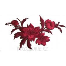 Термоаппликация Цветы-букет 7*11см