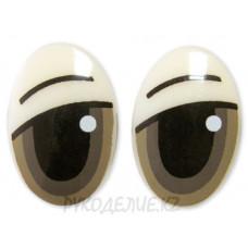 Глаз винтовой овал (1 шт)