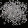 Бусины биконусы стекло 5328 4-d Swarovski 001 - Crystal