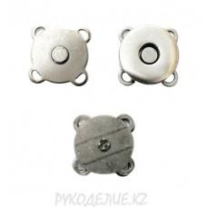 Кнопка пришивная металл с магнитом MS K-16
