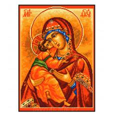 """Набор для вышивания крестом """"Владимирская Богородица"""" 29*39см Матренин Посад"""