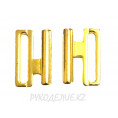 Застежка для купальника металлическая (20мм) Angelica Fashion 01- Золотой