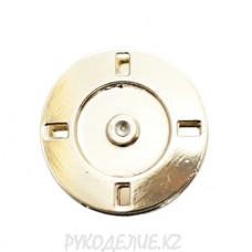 Кнопка пришивная металлическая MS K-21