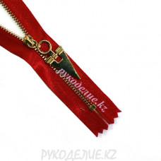 Молния металлическая декоративная №3 (20см, Золото) Angelica Fashion