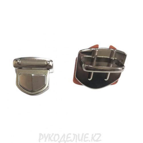 Застежка для сумок (3 детали) 33*33мм AF-7958 Angelica Fashion