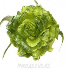 Брошь Цветок пион d-120мм