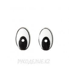 Глаз клеевой овал
