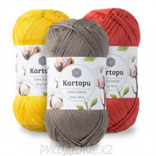Пряжа Love Cotton Kartopu
